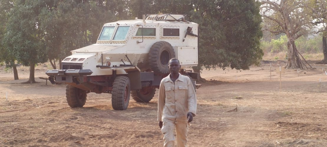 Project in South Sudan - NGO - Mechanical demining